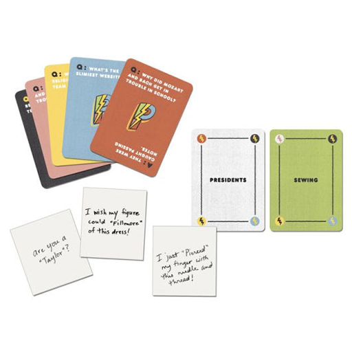 image of Punderdome game components
