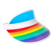 Image of Rainbow Retro Sun Visor