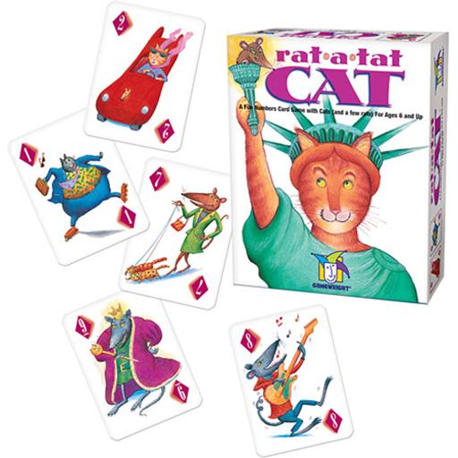 image of Rat a Tat Cat game components
