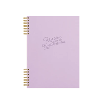 Image of Front of Reading Is Fundamental Notebook