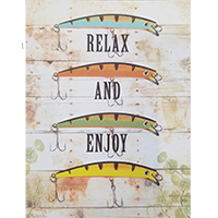 image of Relax and Enjoy birthday card