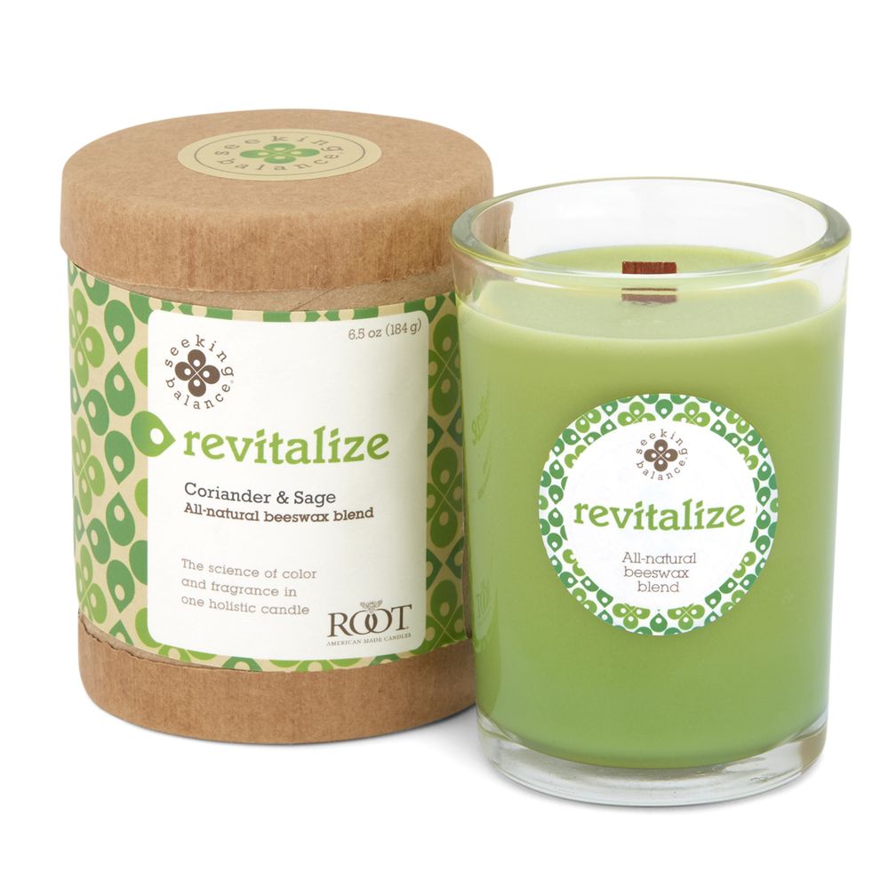 Image of Revitalize Candle 6.5oz and Box