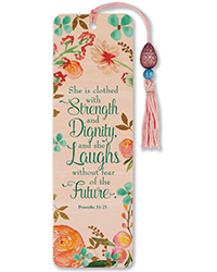 image of She is Clothed With Strength Bookmark