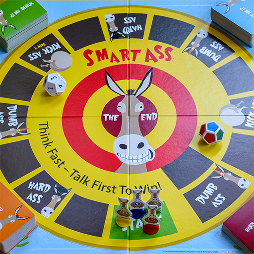 image of Smart Ass game components