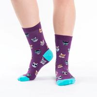 Image of Smarty Cats Women's Crew Socks