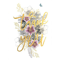 Image of Thank You Bouquet Card