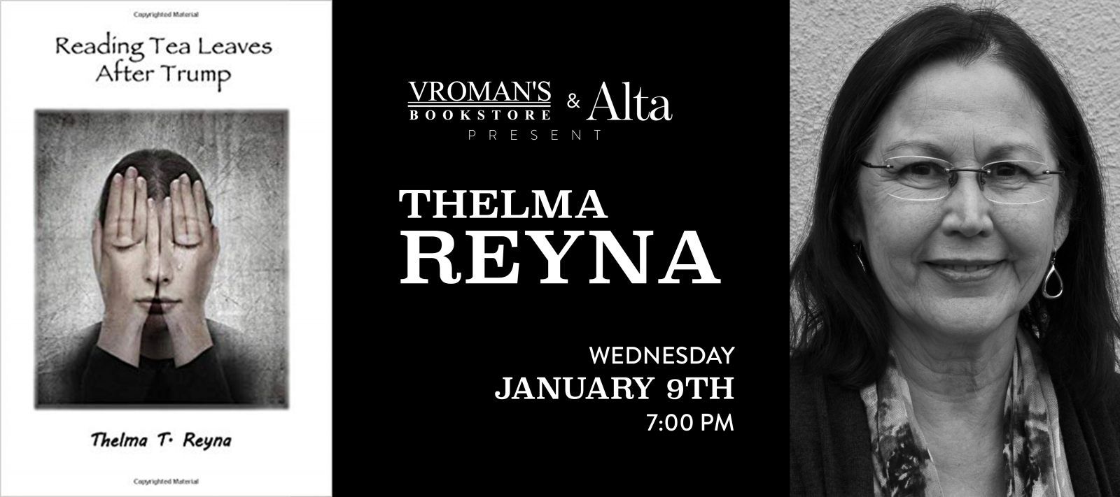 Thelma Reyna Wednesday January 9th at 7pm