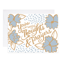 Image of Thoughts and Prayers Card