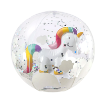 Image of Unicorn 3D Inflatable Beach Ball