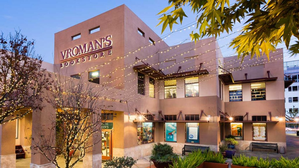 exterior of Vroman's bookstore Colorado Blvd.