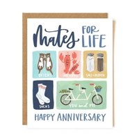 Image of Mates For Life Card