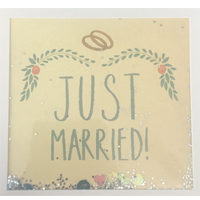 Image of Just Married Card
