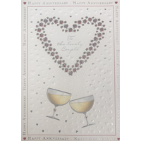 Image of To A Lovely Couple Card