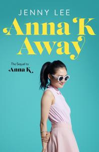 image of Anna K Away book cover