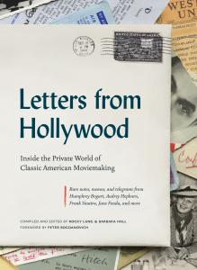 Letters From Hollywood book cover