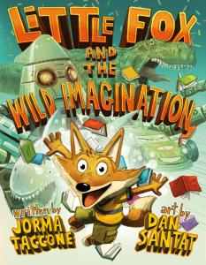 Little Fox and the Wild Imagination book cover