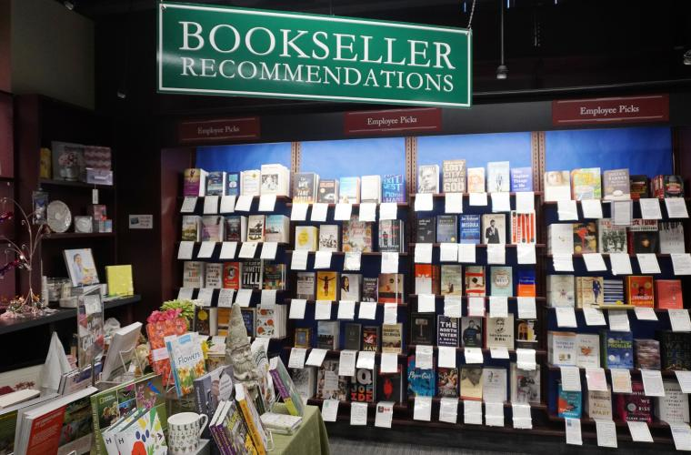 Vroman recommendation wall