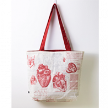 Image of Anatomical Heart Canvas Bag