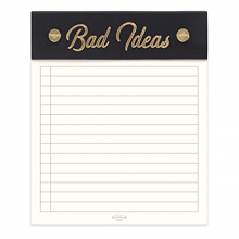 image of Bad Ideas Notepad