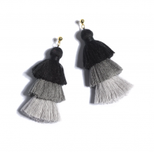 Image of Black Aria Earrings