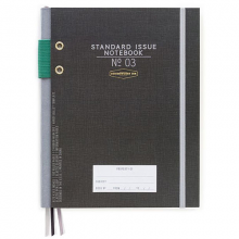 image of Black Standard Hardcover Journal