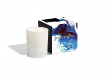 Image of Jasmine Botanika Candle 8.5oz. and Box