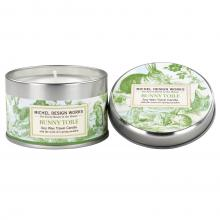 Image of Bunny Toile Travel Candle