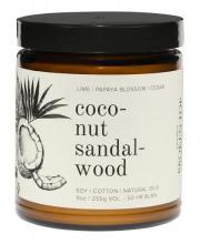 Image of Coconut Sandalwood 9oz Candle
