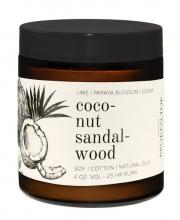 Image of Coconut Sandalwood 4oz Candle