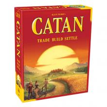 image of Catan game