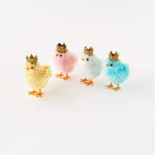 Image of Chick Figurines with Crowns