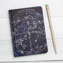 image of Constellations Mini Hardcover Dot Grid Journal cover