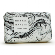 Image of Dahlia Marble Soap (Black and White Marble)