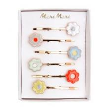 Image of Daisy Enamel Hair Slides