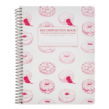 image of Donut Time Ruled Spiral Journal