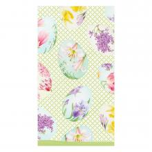 Image of Floral Decorated Eggs Hostess Napkins