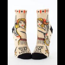 Image of Give Em Hell Ankle Socks