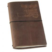 image of Globetrotter Travel Journal, Dark Brown