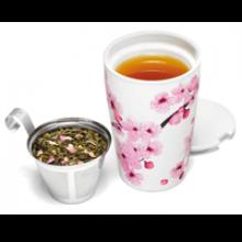 Image of Hanami Kati Tea Cup with Tea Infuser
