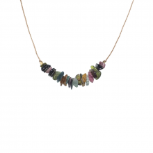Image of Happiness Tourmaline Seed Necklace