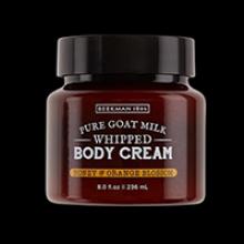 image of Honey & Orange Blossom Whipped Body Cream jar