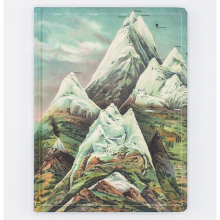 image of Hypothesis Ascending Regions Hardcover Lined/Grid Journal front