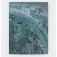 image of Hypothesis Ocean Planet Hardcover Dot Grid Journal front