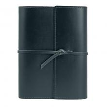 image of Large Writers Log Notebook, Black