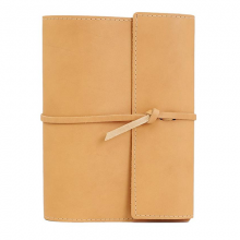 image of Large Writers Log Notebook, Buckskin