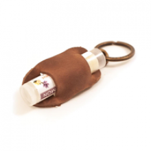 Image of Lip Balm Holder, Dark Brown