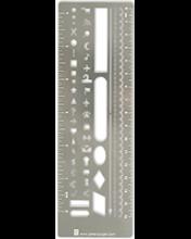image of Metal Stencil Bookmark