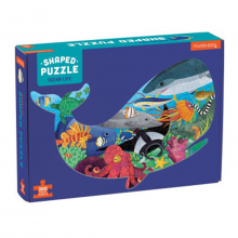 image of Ocean Life Shaped Puzzle