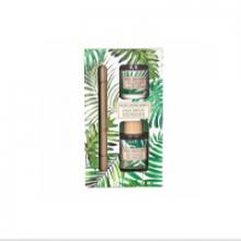 Image of Palm Breeze Diffuser & Votive Candle Set