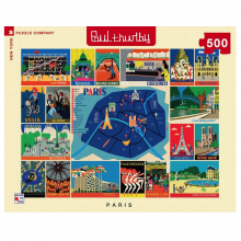 image of Paris Thurlby Collage Puzzle